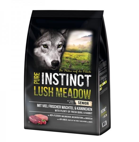 Pure Instinct Lush Meadow Senior Kaninchen und Wachtel 4 Kg-Copy