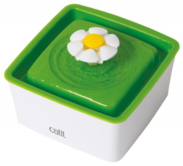 Catit Senses 2.0 Blumentrinkbrunnen 1,5 Liter, grün