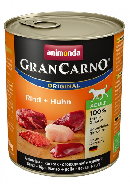 Animonda GranCarno Adult mit Rind + Huhn 800 g