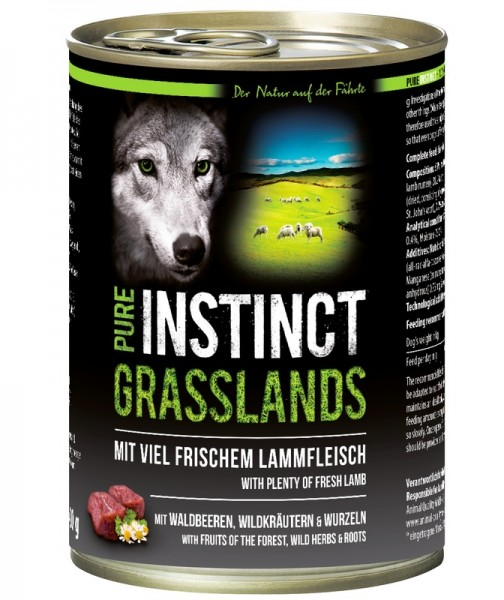 Pure Instinct Lamm Grasslands 400 g Dose