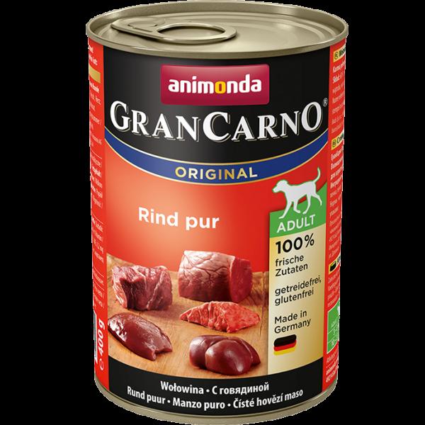 Animonda GranCarno Adult mit Rind Pur 400 g