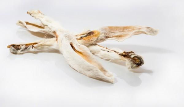 Pure Instinct Kaninchenohren mit Fell 100 g