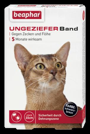 Beaphar Ungezieferband Katze 35 cm