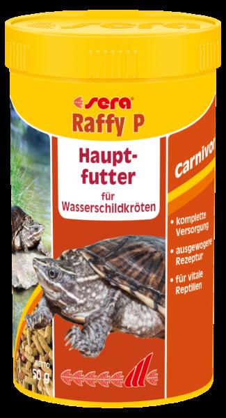 sera Raffy P Hauptfutter für Wasserschildkröten
