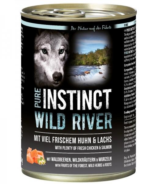 Pure Instinct Huhn & Lachs Wild River 400 g Dose