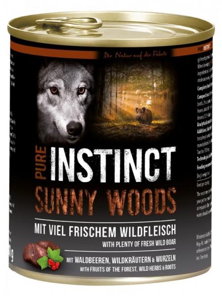 Pure Instinct Wildschwein Sunny Woods 800 g Dose