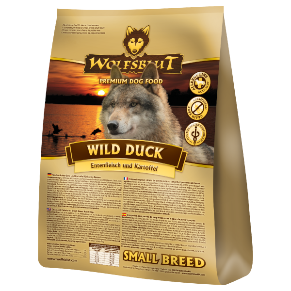 Wolfsblut Wild Duck Small Breed Ente