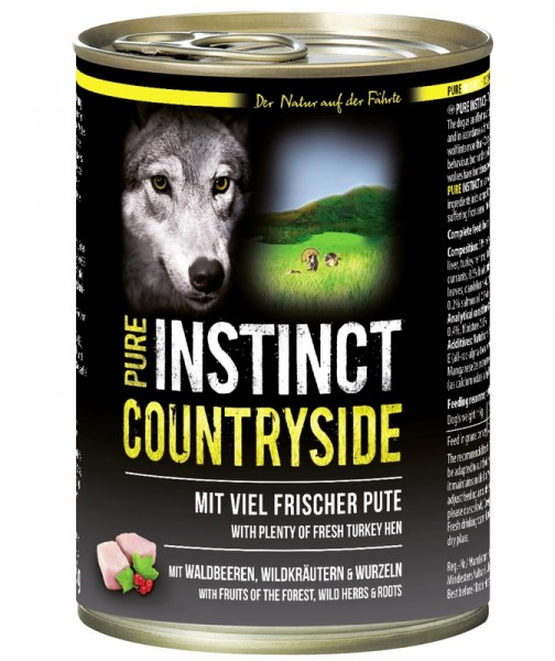 Pure Instinct Pute Countryside 400 g Dose