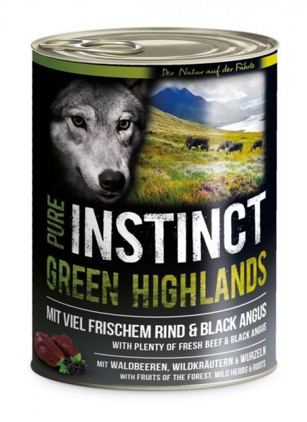 Pure Instinct Rind & Black Angus Green Highlands 400 g