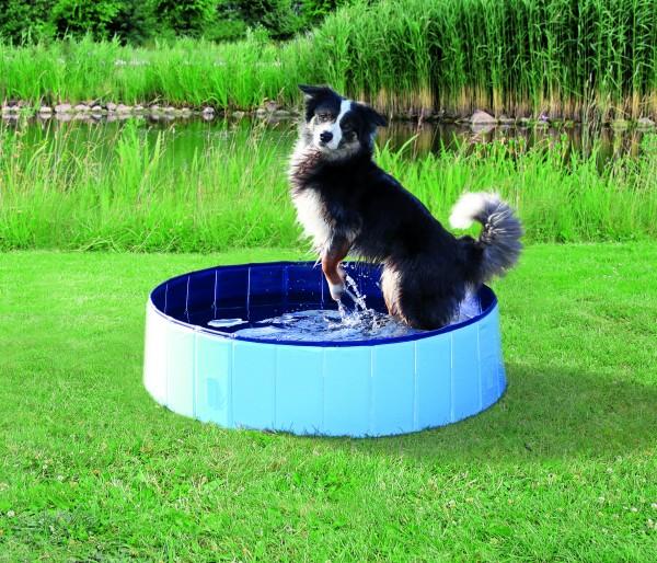 Trixie Hundepool Hellblau Ø 80 - 160 cm