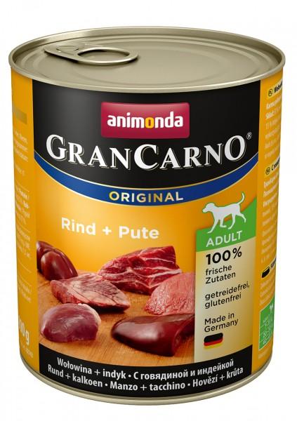 Animonda GranCarno Adult mit Rind + Pute 800 g