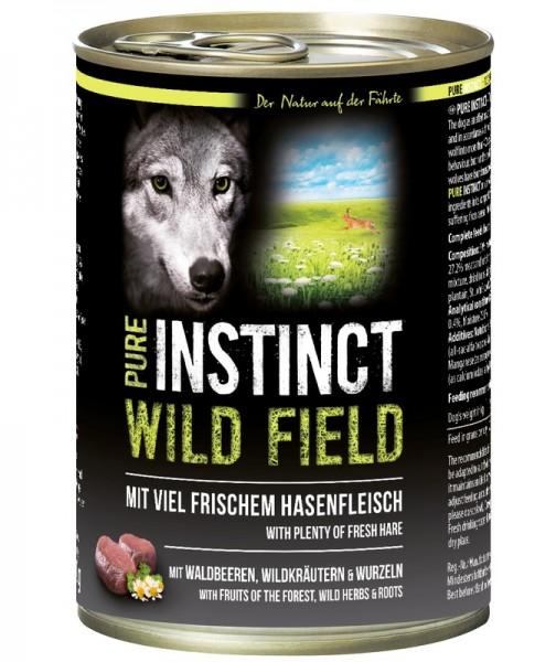 Pure Instinct Hase Wild Field 400 g Dose