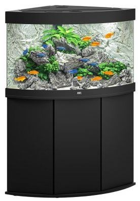 Juwel Trigon 190 LED Aquarium Kombination Schwarz