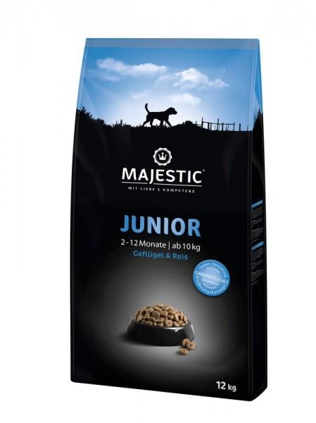 Majestic Junior Geflügel & Reis 12 Kg