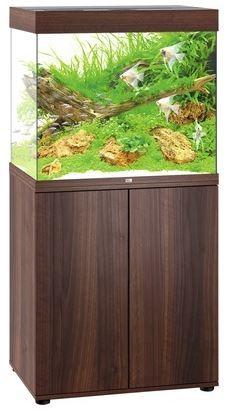 Juwel Lido LED 200 Aquarium Kombination dunkles Holz