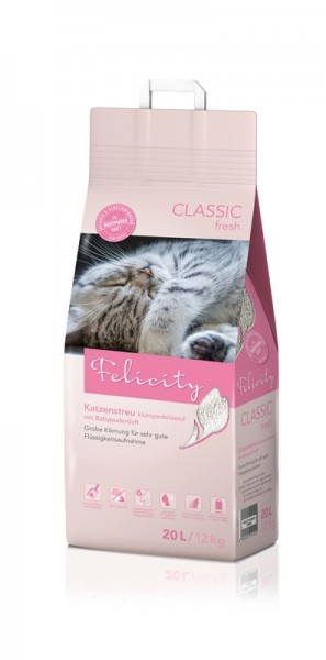 Felicity Katzenstreu Classic fresh 20L / 12kg Beutel