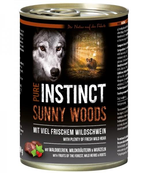 Pure Instinct Wildschwein Sunny Woods 400 g Dose