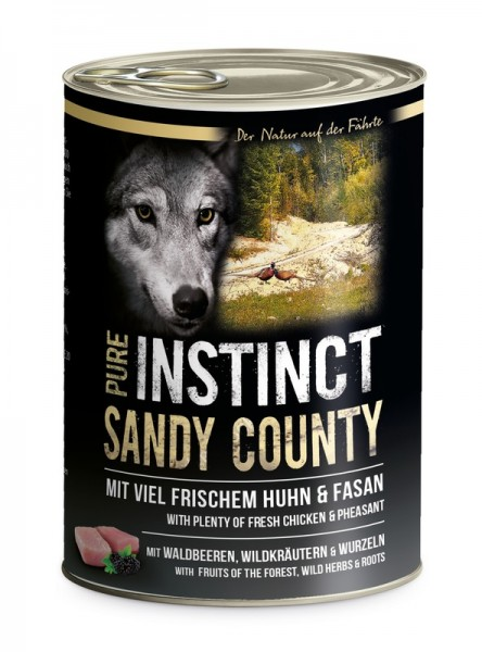 Pure Instinct Huhn & Fasan Sandy Country 400 g