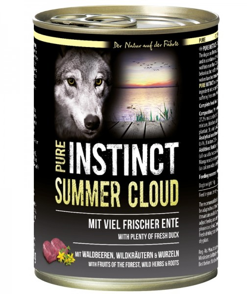 Pure Instinct Ente Summer Cloud 400 g Dose