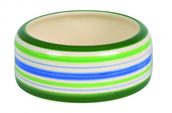 Trixie Keramiknapf Grün Blau Creme