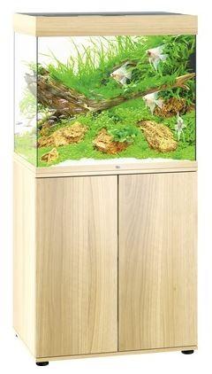 Juwel Lido LED 200 Aquarium Kombination helles Holz