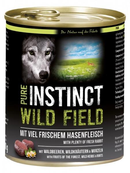 Pure Instinct Hase Wild Field 800 g Dose