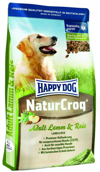 Happy Dog NaturCroq Lamm Reis