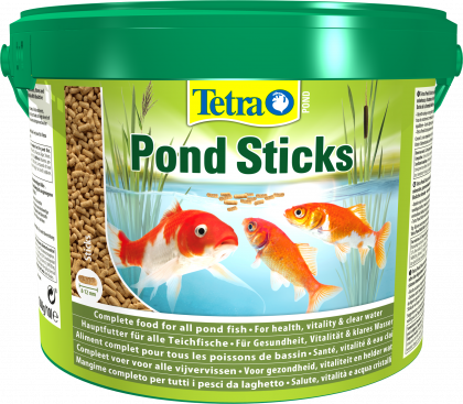 Tetra pond sticks 10 liter eimer tieroase lorsch for Koi pond sticks