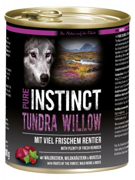 Pure Instinct Rentier Tundra Willow 800 g Dose