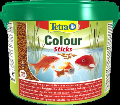 Tetra Pond Colour Sticks 10 Liter Eimer