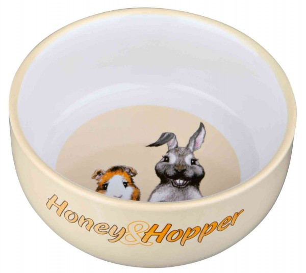 Trixie Honey & Hopper Keramiknapf