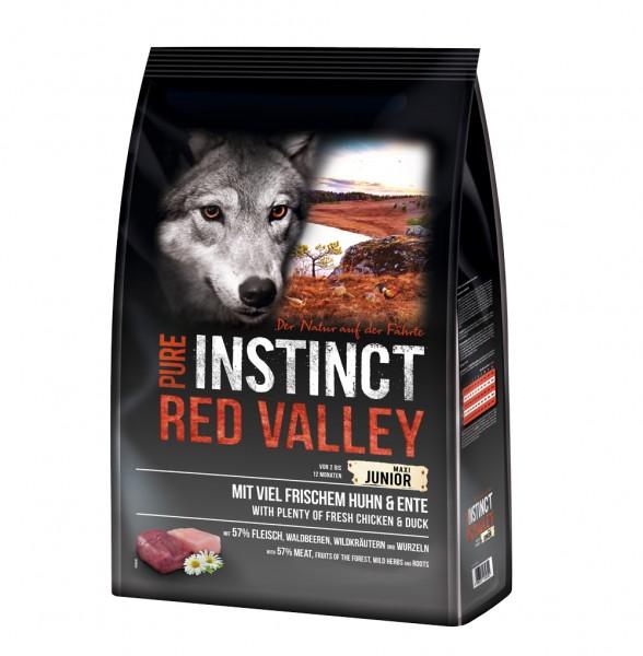 Pure Instinct Junior Maxi Huhn & Ente Red Valley 4 kg