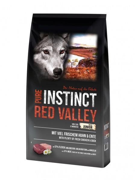 Pure Instinct Junior Maxi Huhn & Ente Red Valley 12 Kg