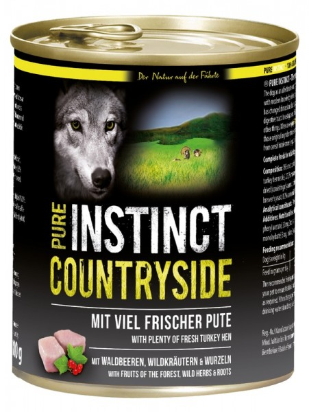 Pure Instinct Pute Countryside 800 g Dose