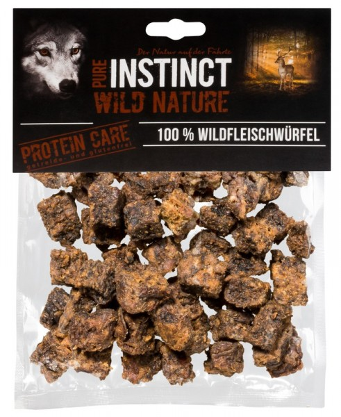 Pure Instinct Wildfleiswürfel 200 g
