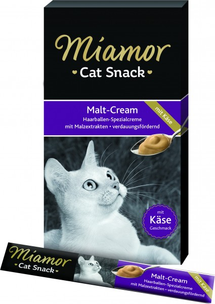 Miamor Cat Confect Malt-Cream und Käse 6x15 g