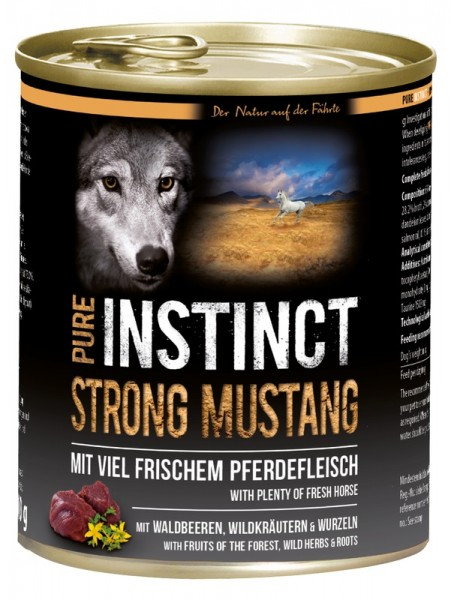 Pure Instinct Pferd Strong Mustang 800 g Dose