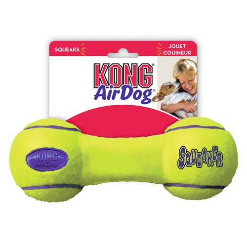Kong AirDog Dumbbell Hantel 18 cm mit Squeker